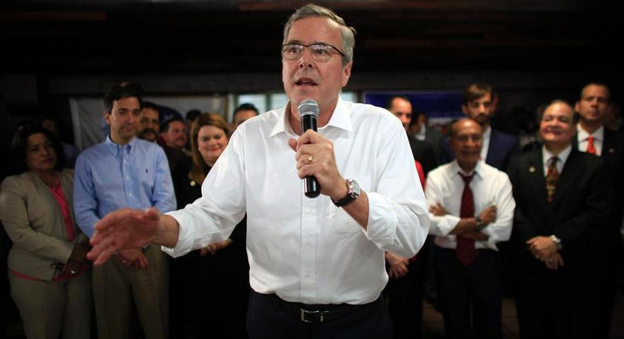 Jeb Bush has yet to announce his campaign for the Republican presidential nomination, but he's raised millions by setting up a super PAC, leadership PAC and nonprofit all with the same name. | AP