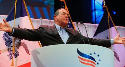 Mike Huckabee knows he must reassure his former supporters that he has not changed even as his pockets grew much, much deeper.   AP