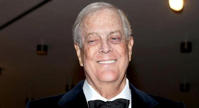 David Koch is pictured. | GETTY
