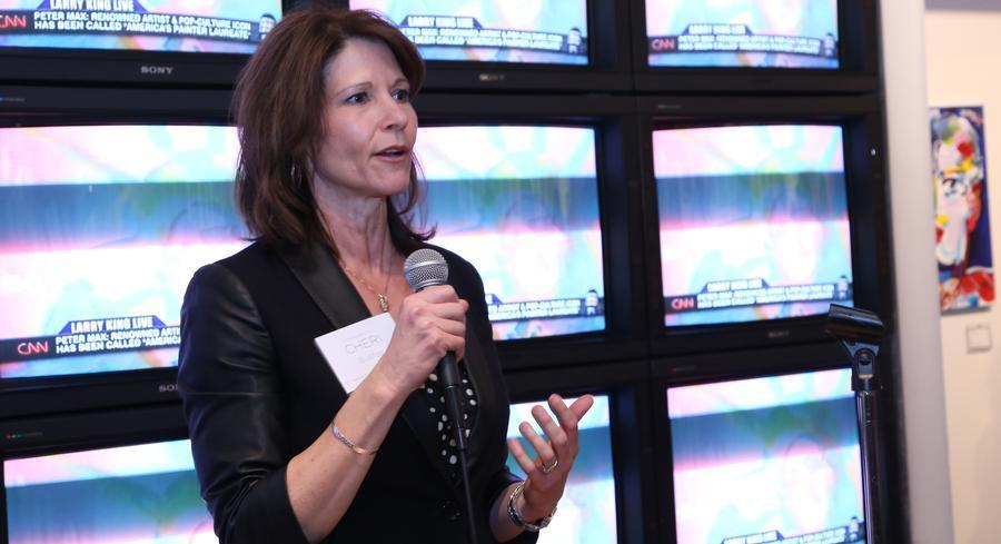 Illinois Rep. Cheri Bustos has been convening bimonthly dinners with a group of other women members of Congress and potential future colleagues.   GETTY