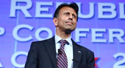The Republican base has grown increasingly supportive of tough talk on terrorism and 'radical Islam,' and on Wednesday, Bobby Jindal saw an opportunity. | AP