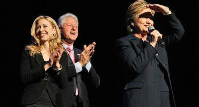 While Bill and Chelsea Clinton will be in attendance at the event, their specific role is still being ironed out. | GETTY