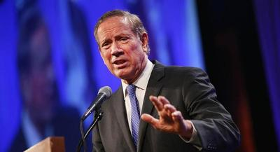George Pataki's candidacy faces steep odds: He barely registers in either national or state-level polls. | GETTY