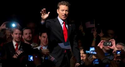 Sen. Rand Paul, an opponent of both approaches, spoke for nearly 11 hours last week in an effort to show his disapproval of the NSA's data-collection programs. | AP