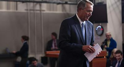 There's more at stake than DHS funding in this fight, though: The future of Republican leadership could well be shaped by what happens on the floor this week.   John Shinkle/POLITICO