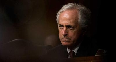That opposition puts both the White House and Sen. Bob Corker, the Foreign Relations Committee chairman, in a quandary. | M. SCOTT MAHASKEY/POLITICO