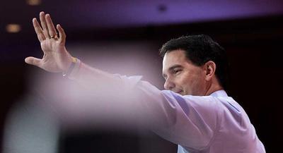 Gov. Scott Walker is pictured. | M. SCOTT MAHASKEY/POLITICO