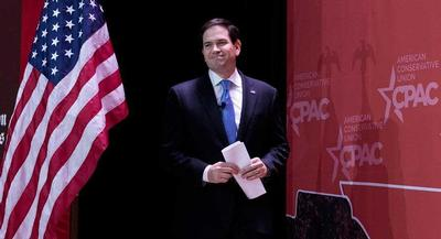 Rubio's team plans Tuesday to tour the Freedom Tower, which remains the likeliest spot for his announcement. | M. SCOTT MAHASKEY/POLITICO
