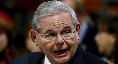 Rep. Robert Menendez is pictured. | AP