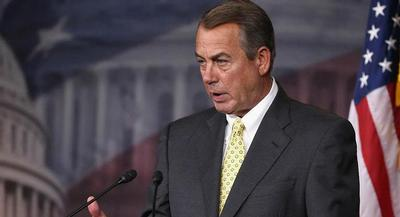 Speaker John Boehner's comments also open the door for a straight extension of the institution, which would infuriate conservatives. | GETTY