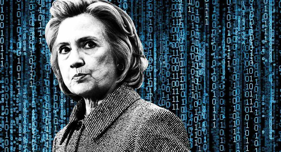Even if Clinton's staffers successfully wiped all emails from her server, there are other places they could show up, such as in a temporary file elsewhere on the server, in a file on her computer hard drive, or on her BlackBerry. | POLITICO ILLUSTRATION/GETTY and iSTOCK IMAGES