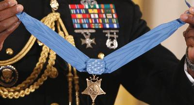 Kyle J. White will receive the Medal of Honor at the White House on May 13. | AP