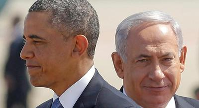 Obama lent his support to Israel's efforts to defend itself against an onslaught of rocket fire from the Hamas-controlled Gaza Strip. | AP