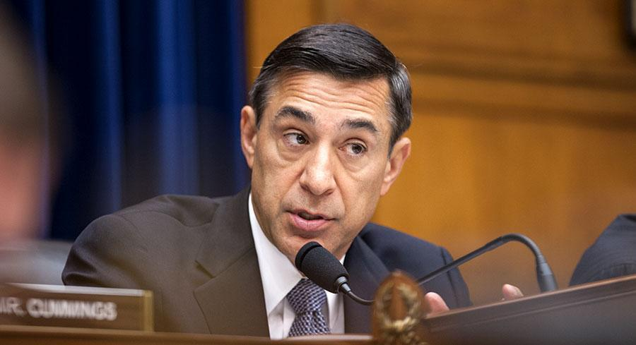 Darrell Issa's behavior caused a headache for House Republicans. | M. SCOTT MAHASKEY/POLITICO