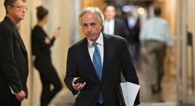 These days, a room full of Democrats isn't such an unusual place to spot Sen. Bob Corker, the energetic 61-year-old former mayor of Chattanooga. | AP
