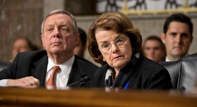 Sen. Dianne Feinstein has widely been regarded as a sleepy watchdog, especially regarding the NSA's secret surveillance. | AP