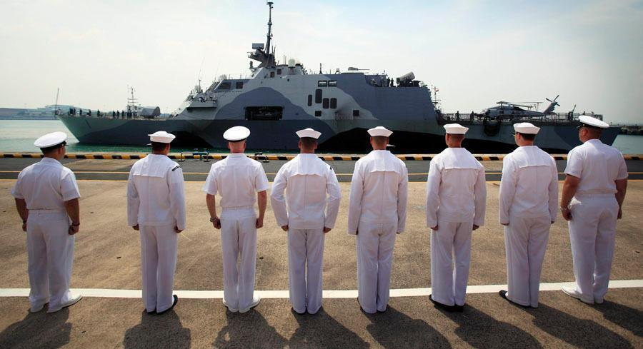 For the Navy's plans to build new ships, it estimates it would require an average of about $16 billion per year from fiscal 2015 to 2024. | AP
