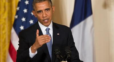 President Barack Obama also took the time to get his message out about Obamacare. | AP