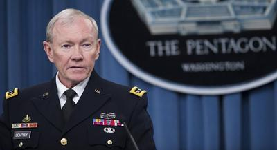 Martin Dempsey's document aims to demonstrate how readiness and modernization could suffer if Congress puts certain programs into the budget. | GETTY