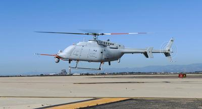 The Pentagon budget this week no longer showed the previously planned 18 future MQ-8 Fire Scout drones through 2018. | GETTY