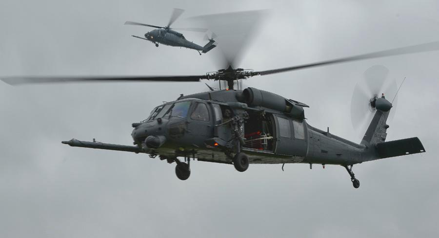 The Air Force has suddenly decided it will try to fund a replacement for its HH-60G Pave Hawk rescue helicopters. | AP