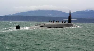 The Navy expects the price of the ballistic missile submarine to drop to under $5 billion each. | GETTY