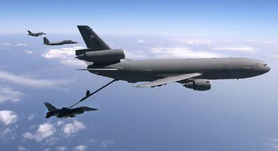 Service officials have asked Congress in the past to divest all of their KC-10s. | U.S. AIR FORCE PHOTO