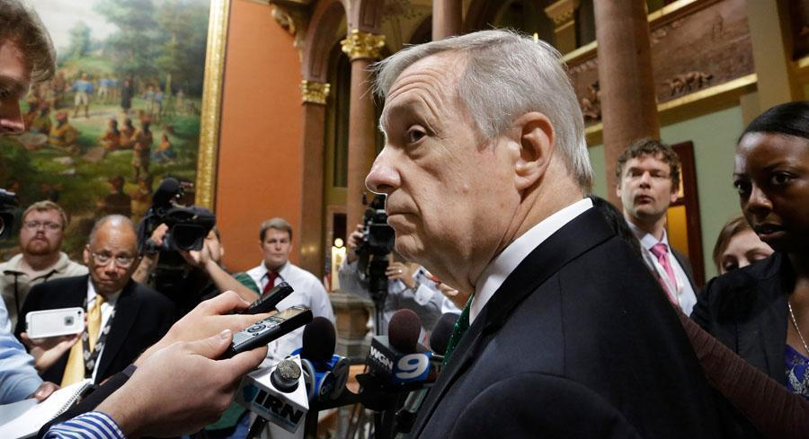 An aide to Sen. Dick Durbin, one of a half-dozen Senate Democrats who prodded President Barack Obama for more information on HCM last year, said he believes releasing the list is in the public interest. | AP