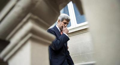 Kerry said that he is eager to adapt State's systems and policies to keep pace with changes in technology. | AP