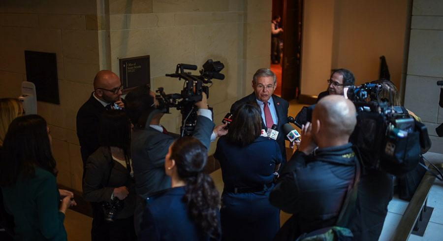 Other actions by Menendez have also come under scrutiny. | JOHN SHINKLE/POLITICO