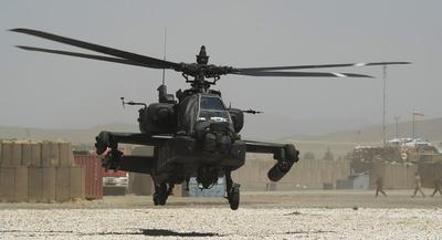 The Army is crying foul over the Guard's claims regarding its Apache unit readiness. | GETTY