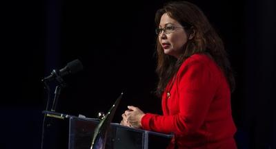Tammy Duckworth is the first Democrat to declare for what could be a crowded race against Sen. Mark Kirk. | GETTY