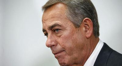 House Speaker John Boehner is pictured. | AP