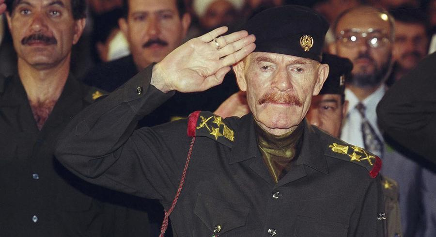 Izzat Ibrahim Al-Douri was the red-haired former general and senior Baath Party official in Hussein's Sunni Muslim-led regime. | GETTY FILE PHOTO