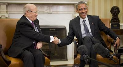 President Barack Obama confirmed the plan as he met with Tunisian President Beji Caid Essebsi at the White House. | AP