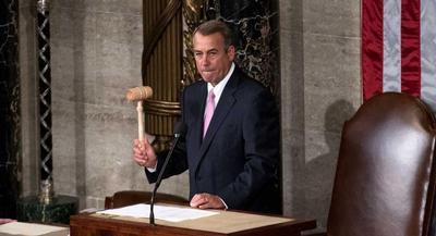 Life has clearly been breathed back into the speaker. | M. SCOTT MAHASKEY/POLITICO