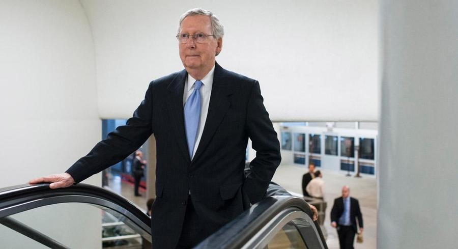 In the end, McConnell is expected to achieve his top priority of getting the fast-track trade bill through the Senate. | AP
