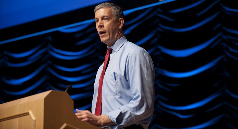 'I appreciate that transitioning back to NCLB is not desirable, and will not be simple,' Arne Duncan wrote in a letter to Superintendent of Public Instruction Randy Dorn. | JOHN SHINKLE/POLITICO