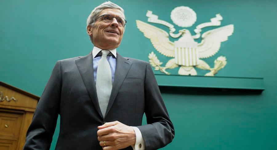 'The building block of 21st century economy is high-speed data communications,' Tom Wheeler said. | AP