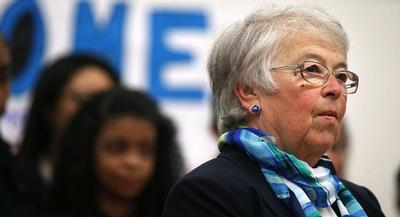 Carmen Fariña has also argued for the new standards by referencing her own education. | GETTY