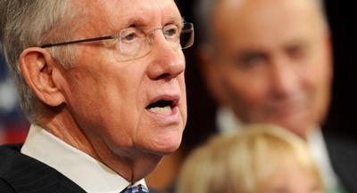 Reid was very vocal about his dislike for former Florida Gov. Jeb Bush. | JOHN SHINKLE/POLITICO