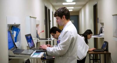 The authors note that health information exchange is still in its infancy.   AP