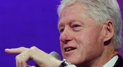 The move, first reported by the New York Post, is a reflection of loyalty by former President Bill Clinton. | AP