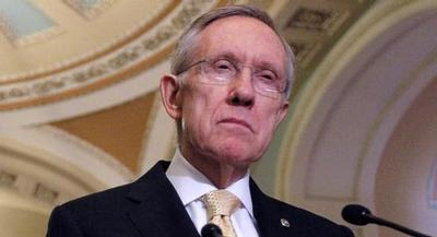 Harry Reid is pictured. | AP