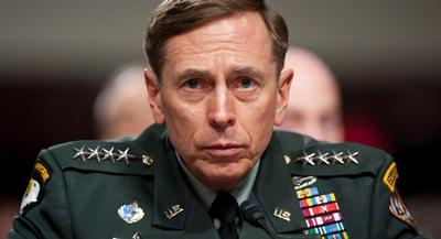 Petraeus admitted to making false statements to the FBI about providing classified information to Broadwell. | JOHN SHINKLE/POLITICO
