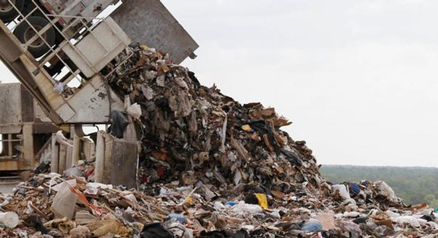 Food manufacturers kept about 44 billion pounds of food waste out of landfills in 2011. | AP