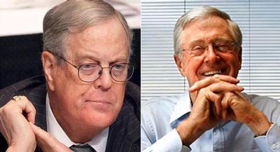 Democrats need something to run against — and they've picked the Kochs as an easy foil. | AP