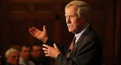 Enter Congress, where the general of the war on regulation is Sen. Angus King, who's pessimistic that the solution will come from the White House and the agencies. | AP
