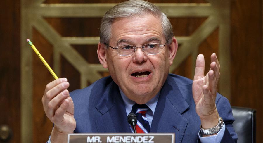 "Asked where he stands after a hearing on the pipeline, Senate Foreign Relations Chairman Robert Menendez said, ""I'm in the process of doing what we did today, conduct a fair and balanced hearing and get to the facts."" 
