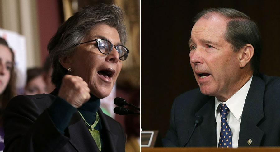 Squabbling between Democratic Sens. Barbara Boxer of California and Tom Udall of New Mexico is complicating the already-complex deliberations on updating the 1976 Toxic Substances Control Act. | GETTY